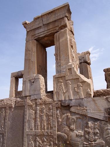 世界遺産ペルセポリス ペルシャ繁栄の面影を残すアパダーナのレリーフに釘付け (38)