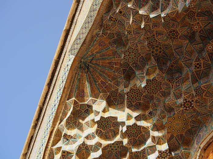 世界遺産より印象に残ったマスジェデ・ナスィーロル・モスク、別名ピンク・モスク。 (15)