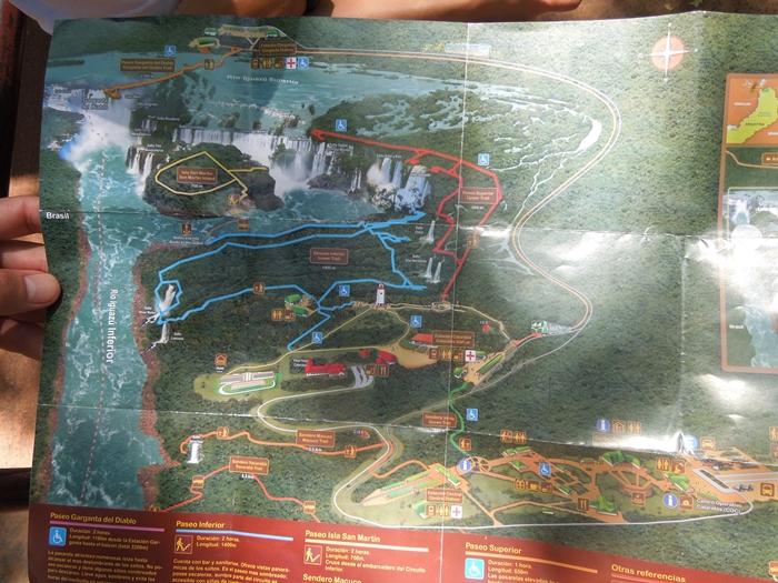 世界遺産のイグアスの滝、まずはアルゼンチン側~悪魔の喉笛迫力ありすぎます~ (12)