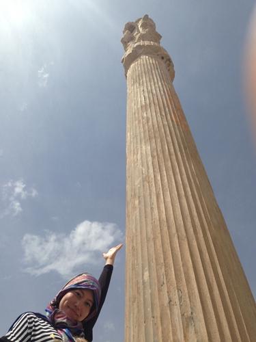 世界遺産ペルセポリス ペルシャ繁栄の面影を残すアパダーナのレリーフに釘付け (9)