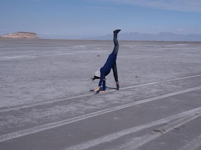 【移動情報】タブリーズからオルミーイェ。塩湖で側転! (1)