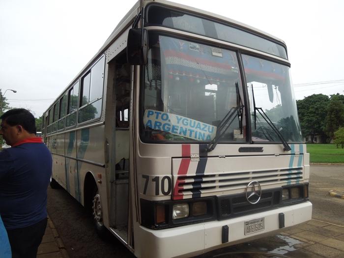 【移動情報】イグアス日本人居住区 パラグアイからプエルト・イグアス アルゼンチンへ (2)