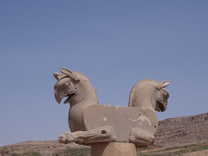世界遺産ペルセポリス ペルシャ繁栄の面影を残すアパダーナのレリーフに釘付け (20)