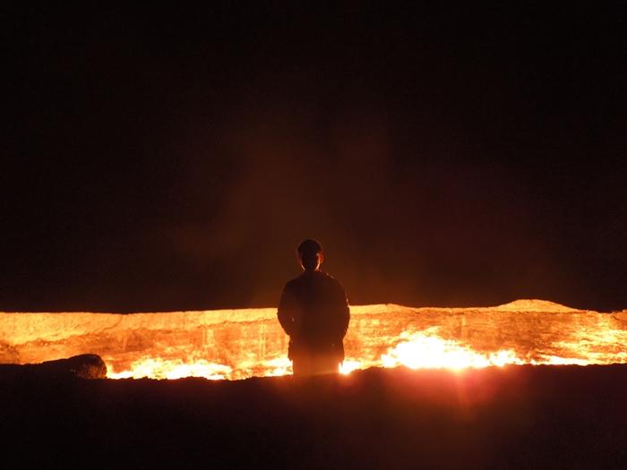 遂にやってきた地獄の門 Door to Hell 今までで一番の絶景! (17)