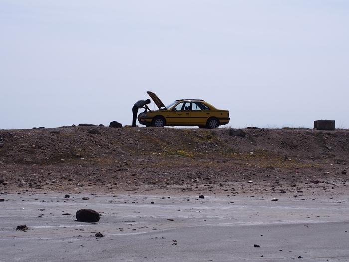【移動情報】タブリーズからオルミーイェ。塩湖で側転! (12)