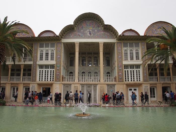 世界遺産より印象に残ったマスジェデ・ナスィーロル・モスク、別名ピンク・モスク。 (18)
