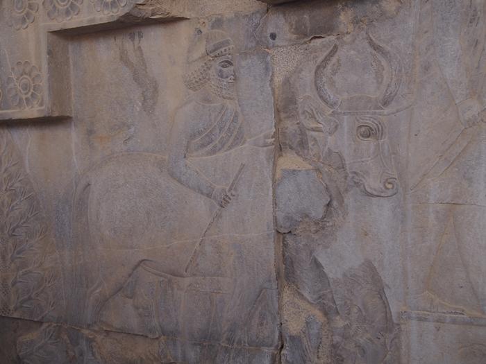 世界遺産ペルセポリス ペルシャ繁栄の面影を残すアパダーナのレリーフに釘付け (28)