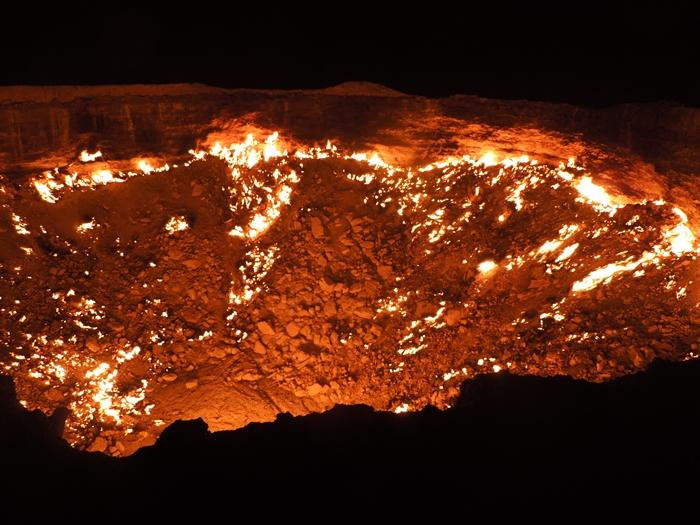 遂にやってきた地獄の門 Door to Hell 今までで一番の絶景! (16)
