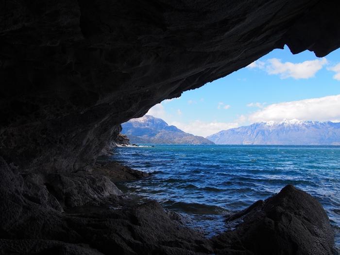 【チリ03】マーブルカテドラル 青く輝く大理石の洞窟 (10)