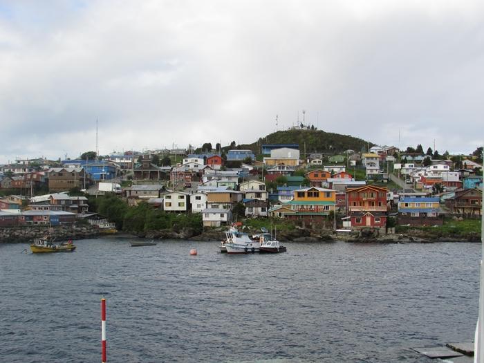 【チリ06 移動&宿情報】アウストラル街道を北へ、北へ Part3~プエルト・シスネスからカストロ チロエ島 (8)