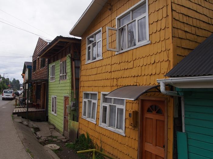 【チリ08 世界遺産】カラフルなカストロ(チロエ島)の町歩き (30)