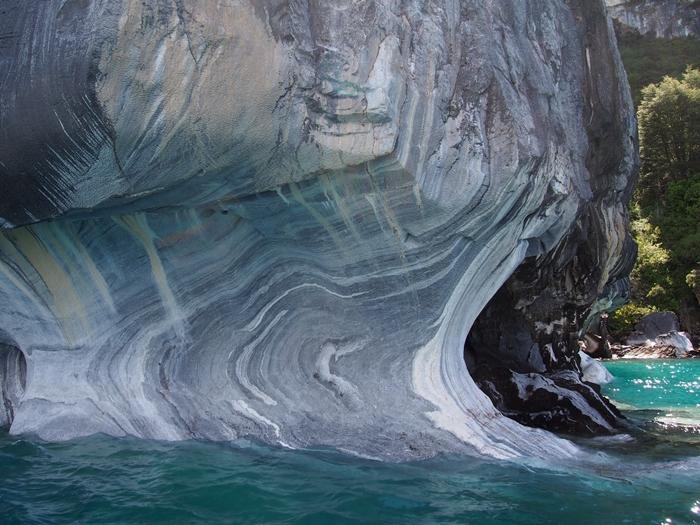 【チリ03】マーブルカテドラル 青く輝く大理石の洞窟 (23)