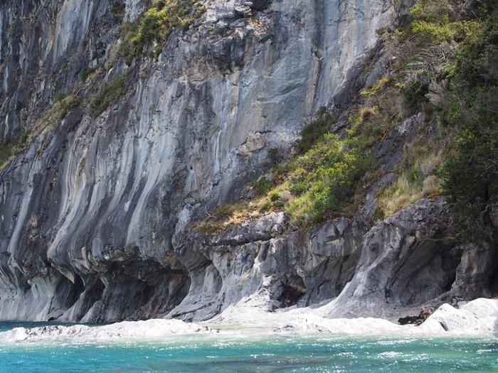 【チリ03】マーブルカテドラル 青く輝く大理石の洞窟 (6)