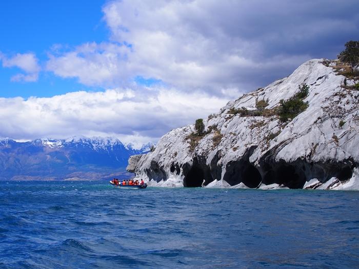 【チリ03】マーブルカテドラル 青く輝く大理石の洞窟 (11)