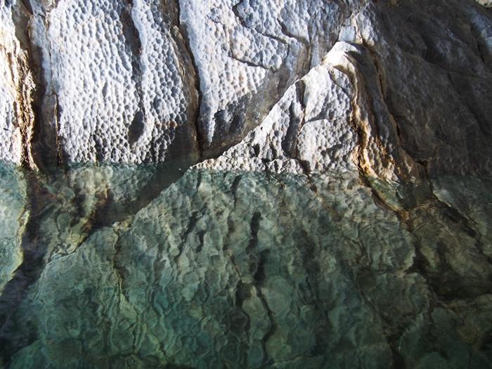 【チリ03】マーブルカテドラル 青く輝く大理石の洞窟 (9)