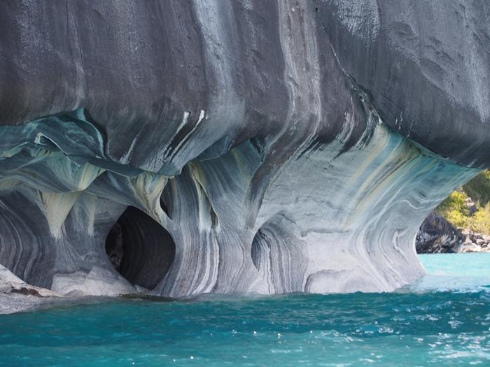 【チリ03】マーブルカテドラル 青く輝く大理石の洞窟 (1)
