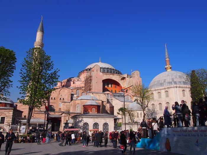 【トルコ03】夜のイスタンブール 眺めの良いレストラン発見! (15)