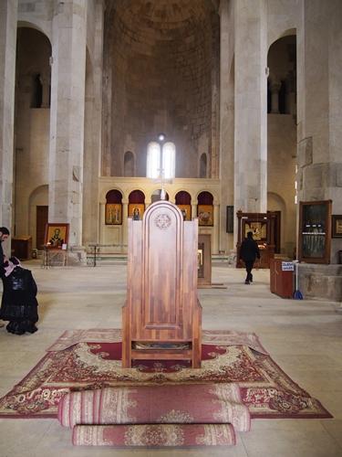 【ジョージア04 世界遺産】バグラティ大聖堂とゲラティ修道院 クタイシ観光 (8)