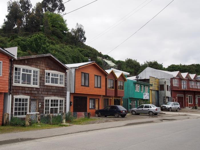 【チリ08 世界遺産】カラフルなカストロ(チロエ島)の町歩き (26)
