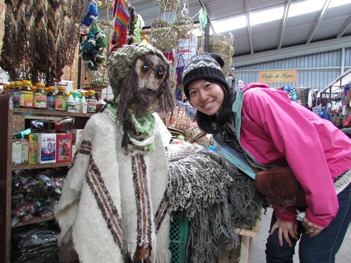 【チリ08 世界遺産】カラフルなカストロ(チロエ島)の町歩き (13)