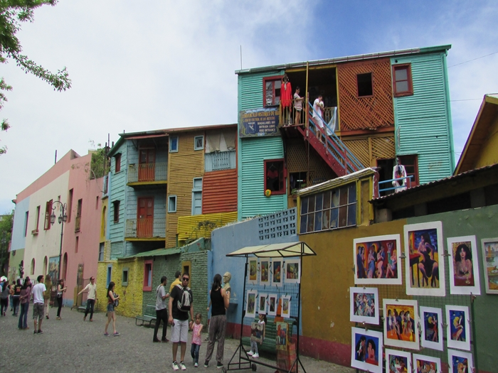 【アルゼンチン08】カラフルな町並みのカミニートと、世界で2番目に美しい本屋El ATENEO GRAND SPLENDID (21)