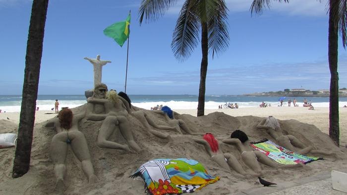 【ブラジル06】リオPart1~観光編~水着から階段までカラフルなリオ! (20)