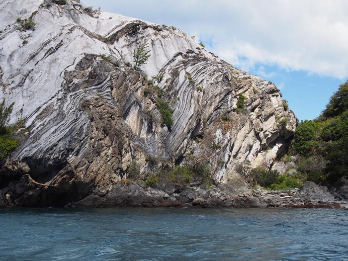 【チリ03】マーブルカテドラル 青く輝く大理石の洞窟 (12)