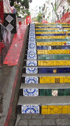 【ブラジル06】リオPart1~観光編~水着から階段までカラフルなリオ! (5)