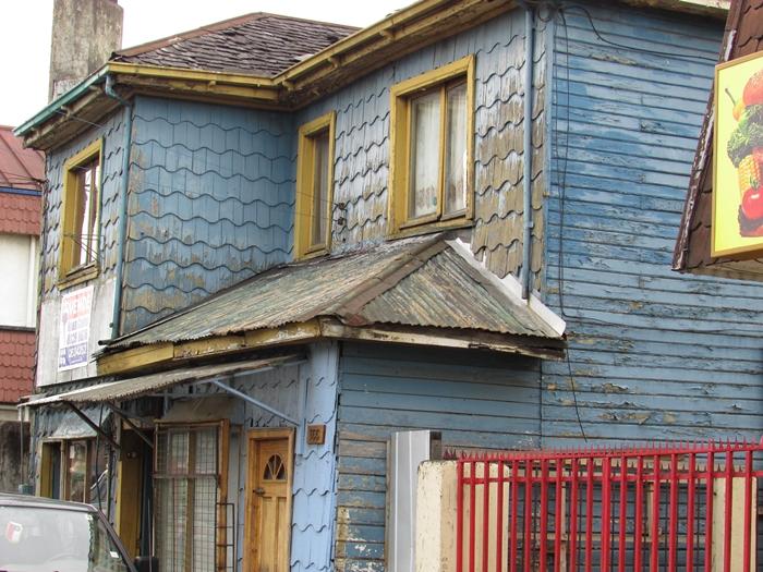 【チリ08 世界遺産】カラフルなカストロ(チロエ島)の町歩き (21)