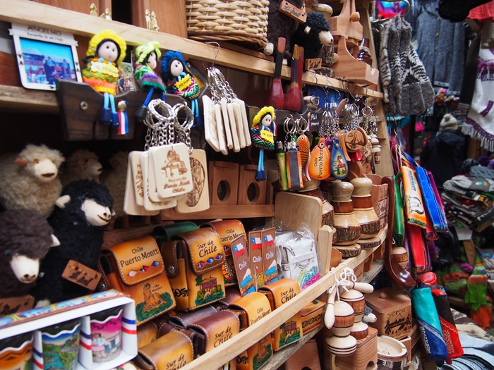 【チリ10】シーフードと民芸品のマーケット アンヘルモ (14)
