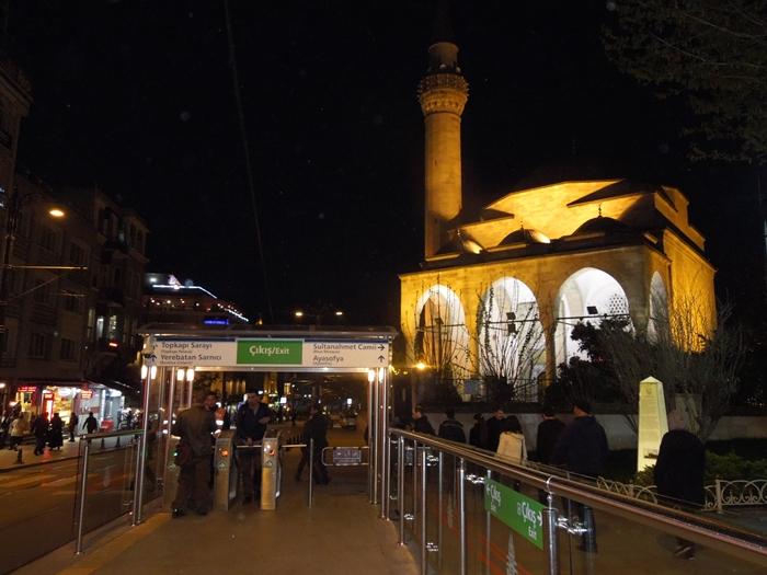 【トルコ03】夜のイスタンブール 眺めの良いレストラン発見! (11)