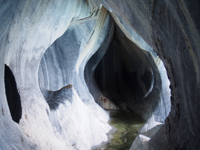 【チリ03】マーブルカテドラル 青く輝く大理石の洞窟 (30)