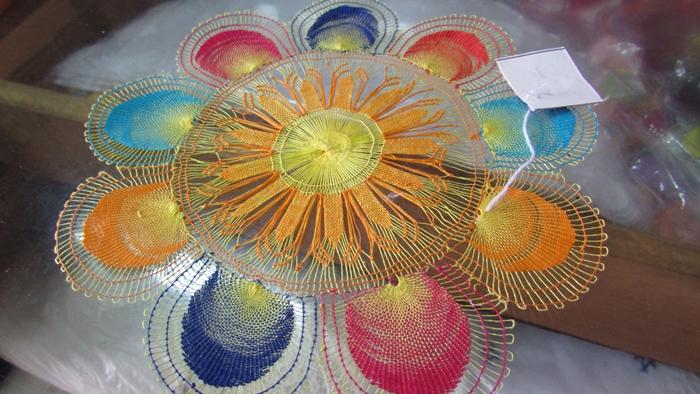 【パラグアイ08】蜘蛛の糸「ニャンドゥティ」 トリコになるほど美しい芸術的なレース編み! (11)