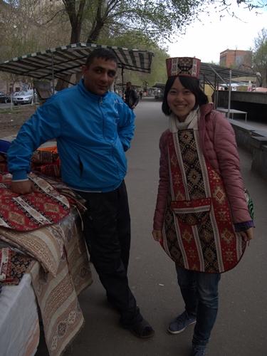 中東と雰囲気がガラッと変わった!エレヴァン街歩き。お土産だって買っちゃうよ! (1)