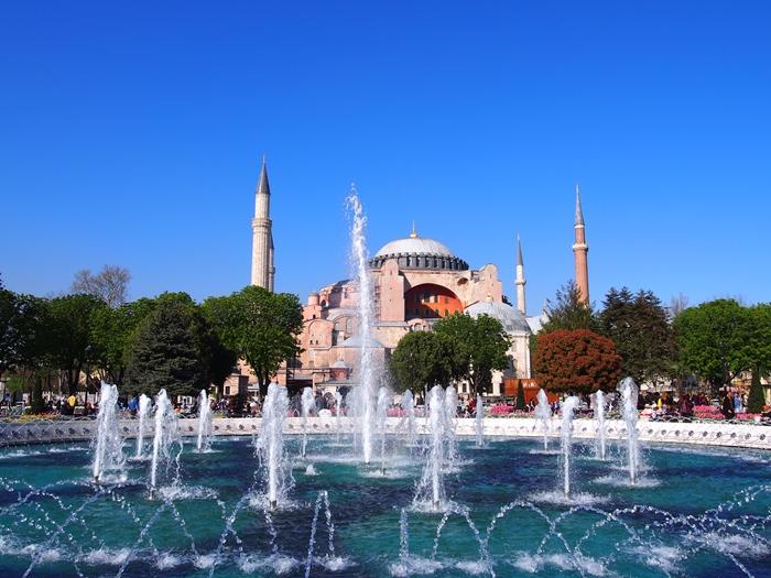 【トルコ03】夜のイスタンブール 眺めの良いレストラン発見! (18)
