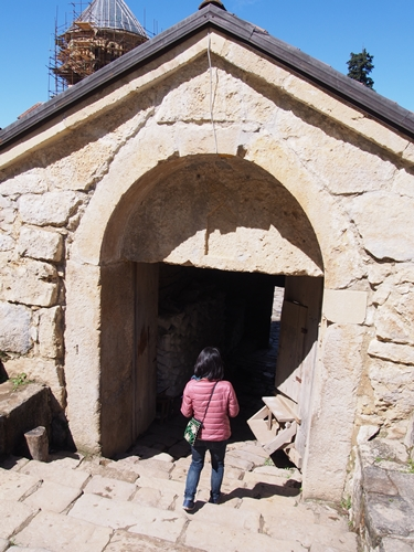 【ジョージア04 世界遺産】バグラティ大聖堂とゲラティ修道院 クタイシ観光 (18)