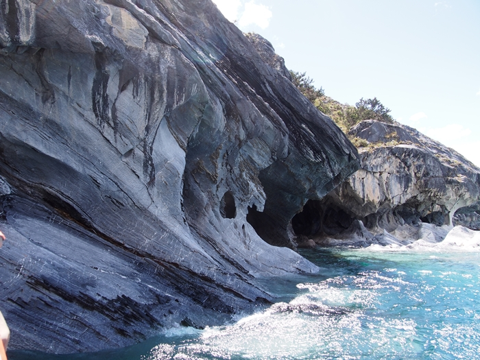 【チリ03】マーブルカテドラル 青く輝く大理石の洞窟 (15)