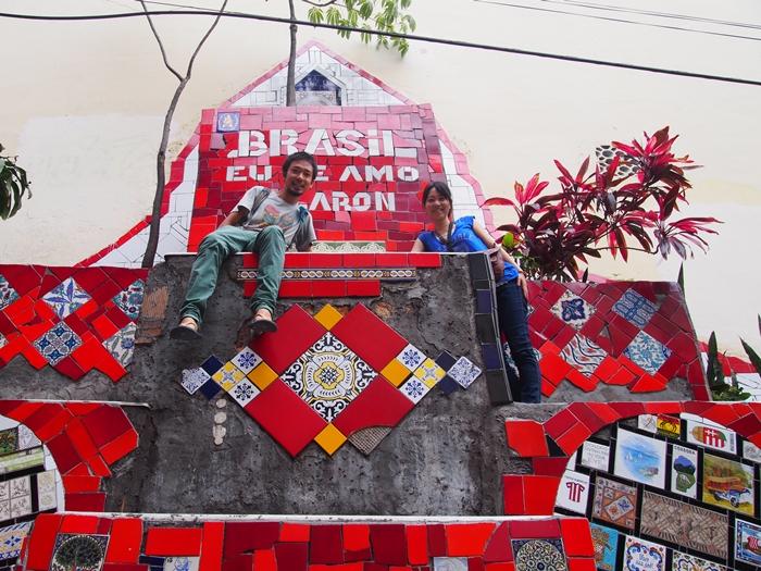 【ブラジル06】リオPart1~観光編~水着から階段までカラフルなリオ! (41)