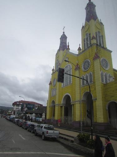 【チリ06 移動&宿情報】アウストラル街道を北へ、北へ Part3~プエルト・シスネスからカストロ チロエ島 (13)