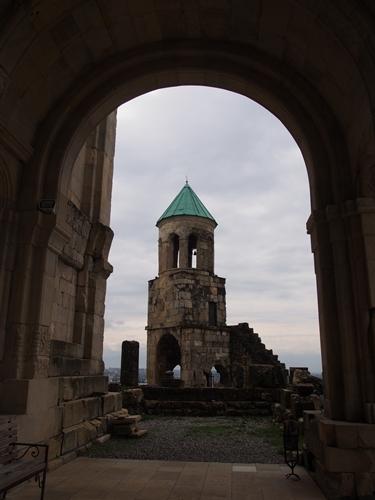 【ジョージア04 世界遺産】バグラティ大聖堂とゲラティ修道院 クタイシ観光 (7)
