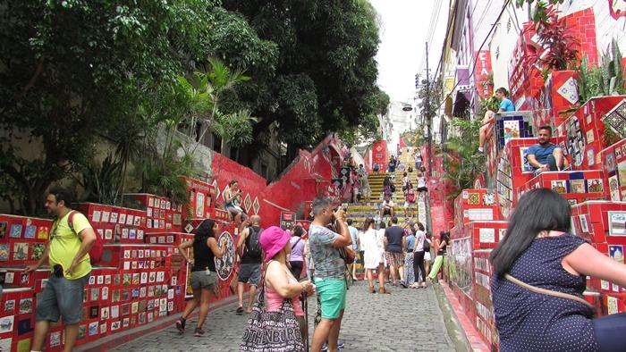 【ブラジル06】リオPart1~観光編~水着から階段までカラフルなリオ! (8)