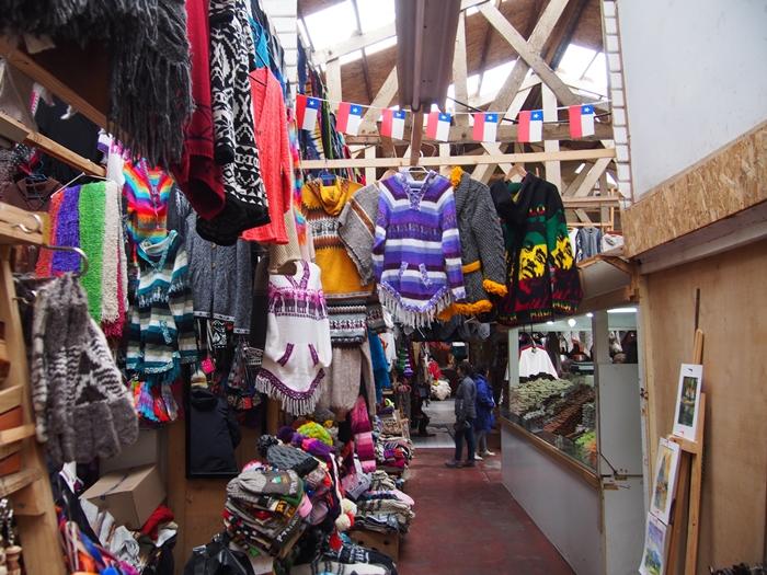 【チリ10】シーフードと民芸品のマーケット アンヘルモ (12)