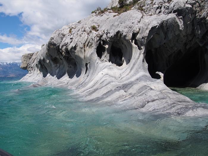 【チリ03】マーブルカテドラル 青く輝く大理石の洞窟 (13)