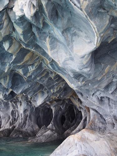 【チリ03】マーブルカテドラル 青く輝く大理石の洞窟 (7)