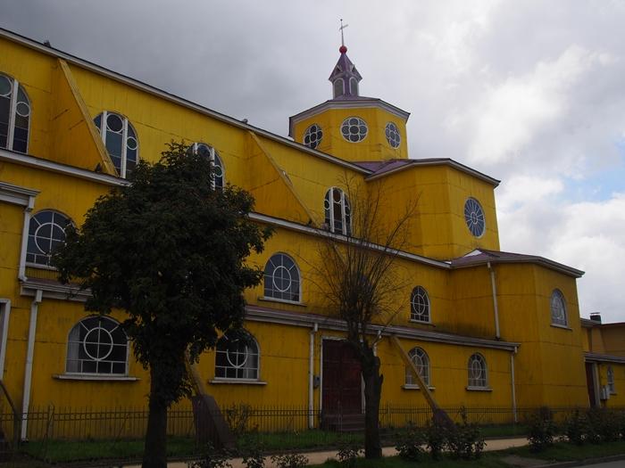【チリ08 世界遺産】カラフルなカストロ(チロエ島)の町歩き (45)