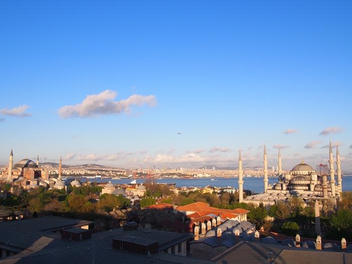 【トルコ03】夜のイスタンブール 眺めの良いレストラン発見! (20)
