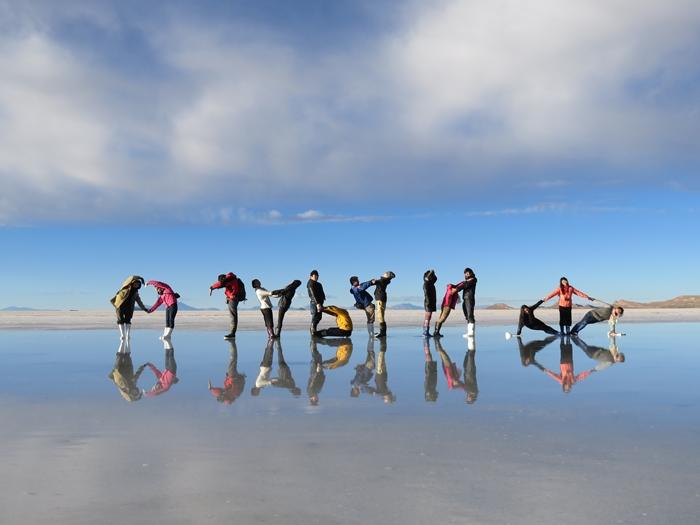 【ボリビア04】鏡張りのウユニ塩湖~この旅を始めた目的の一つ。 (13)