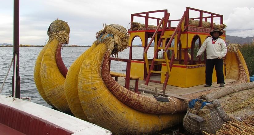 【ペルー02】ガッカリ?チチカカ湖ツアー。