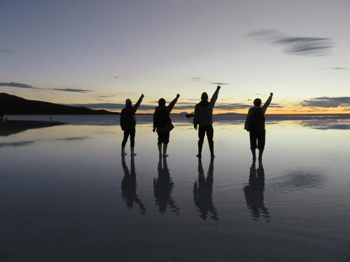 【ボリビア04】鏡張りのウユニ塩湖~この旅を始めた目的の一つ。 (10)