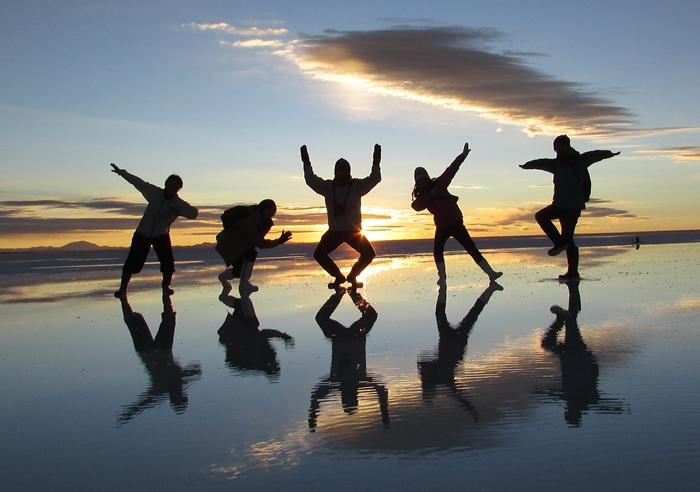 【ボリビア04】鏡張りのウユニ塩湖~この旅を始めた目的の一つ。 (4)
